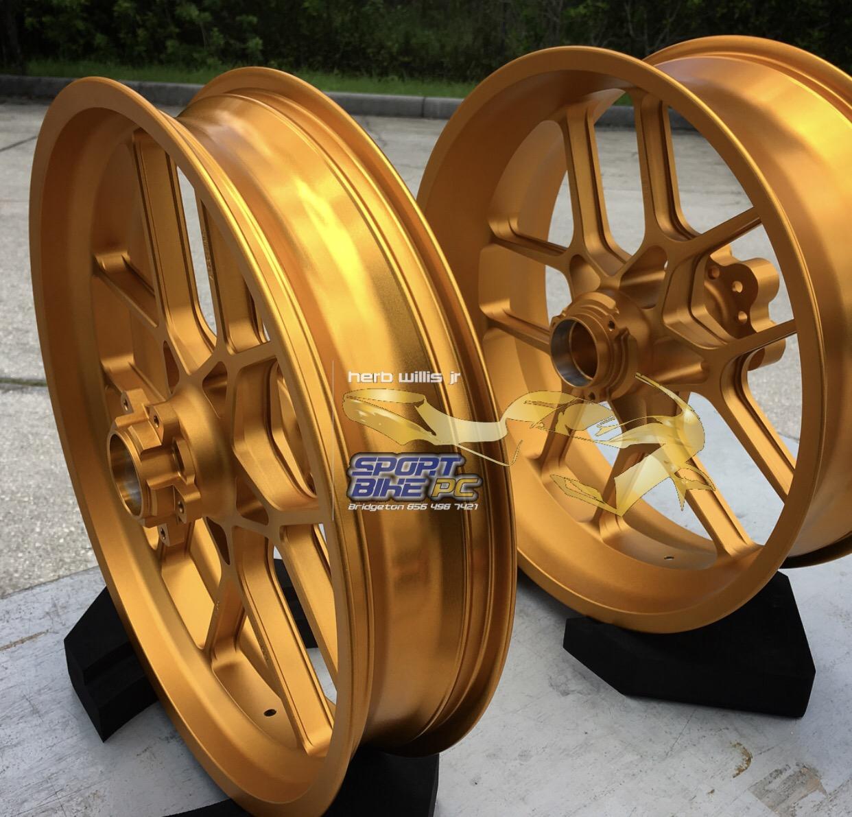 CARROZZERIA V-Track Forged Wheel Sets